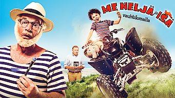 Me neljä ja isä: Villi loma (2015)