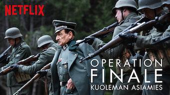 Operation Finale – Kuoleman asiamies (2018)