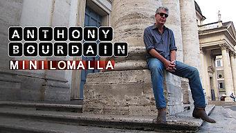 Anthony Bourdain minilomalla (2012)
